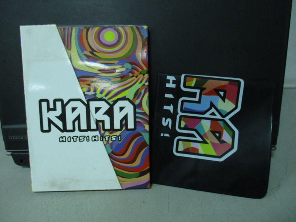 【書寶二手書T5/音樂_NSF】KARA_HITS!HITS!_附光碟