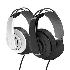 志達電子 HD681EVO SuperLux 半開放式專業用監聽耳機 (公司貨,保固一年) 黑/白 可換線式