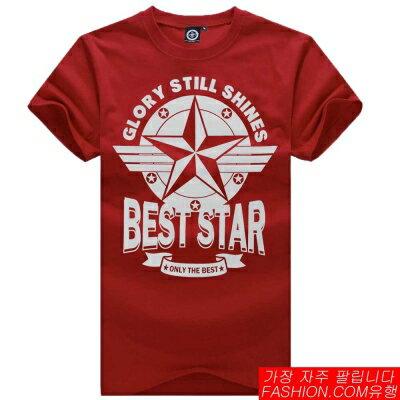 DITION 特價100元商品! 空軍五芒星BEST STAR潮流短T 捍衛戰士
