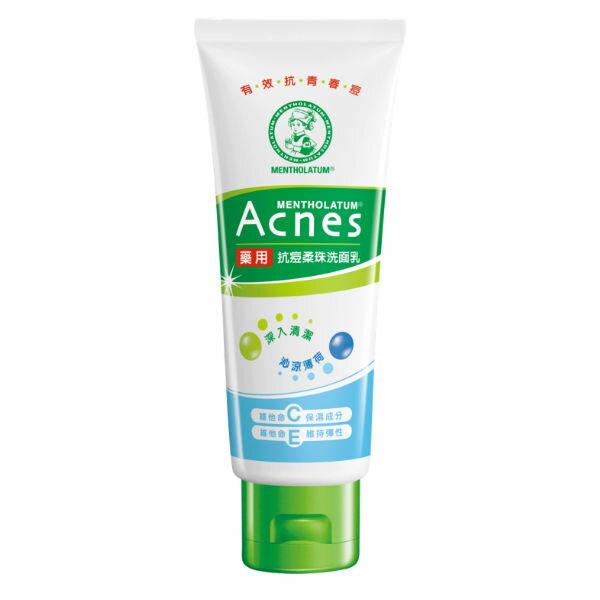 <br/><br/>  Acnes藥用抗痘柔珠洗面乳100g<br/><br/>