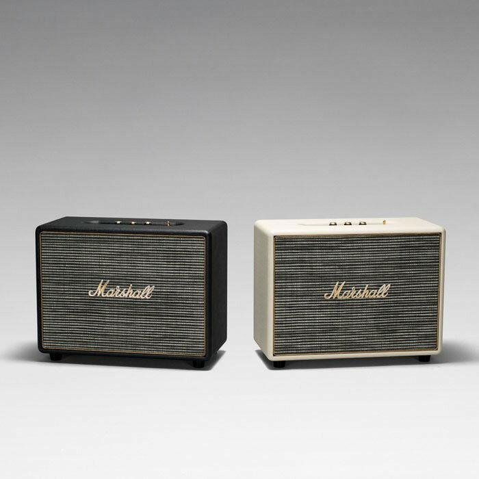 Marshall WOBURN BLACK 無線藍牙喇叭 經典黑|震撼低頻 優秀高音質|MusicShop