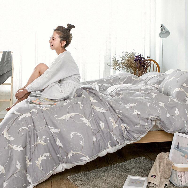 床包 / 雙人【幻羽夢境】科技天絲,含兩件枕套,戀家小舖