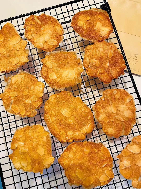 藍帶手工系列-減糖杏仁瓦片 (120g)