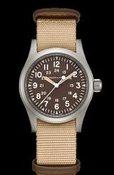 Hamilton 漢米爾頓 Khaki Field 卡其野戰系列軍事腕錶 H69429901 卡其色系 38mm