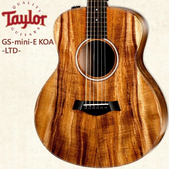 【非凡樂器】Taylor GS-mini【Koa-E FLTD】美國知名品牌電木吉他/公司貨/全新未拆箱/加贈原廠背帶
