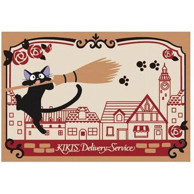 【真愛日本】17111700026 戈布蘭織餐墊-JIJI街道風景 魔女宅急便 黑貓 奇奇貓 日用品 重複使用 餐桌墊