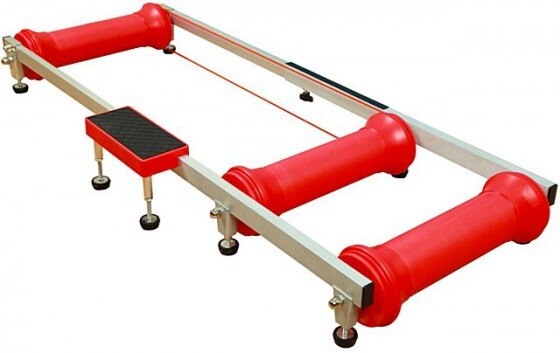 培林滾筒式訓練台 / 練習台 / 騎行台   紅色《意生自行車》