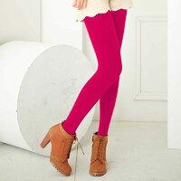 保暖配件推薦Meinas美娜斯 200D天鵝絨保暖褲襪桃紅