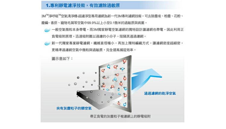 【3M】超濾淨型大坪數16坪機專用替換濾網(CHIMSPD-03UCF) 2