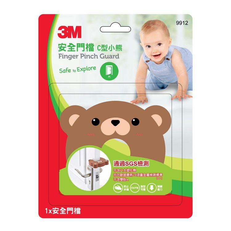 3M 安全門檔-C形小熊9912-