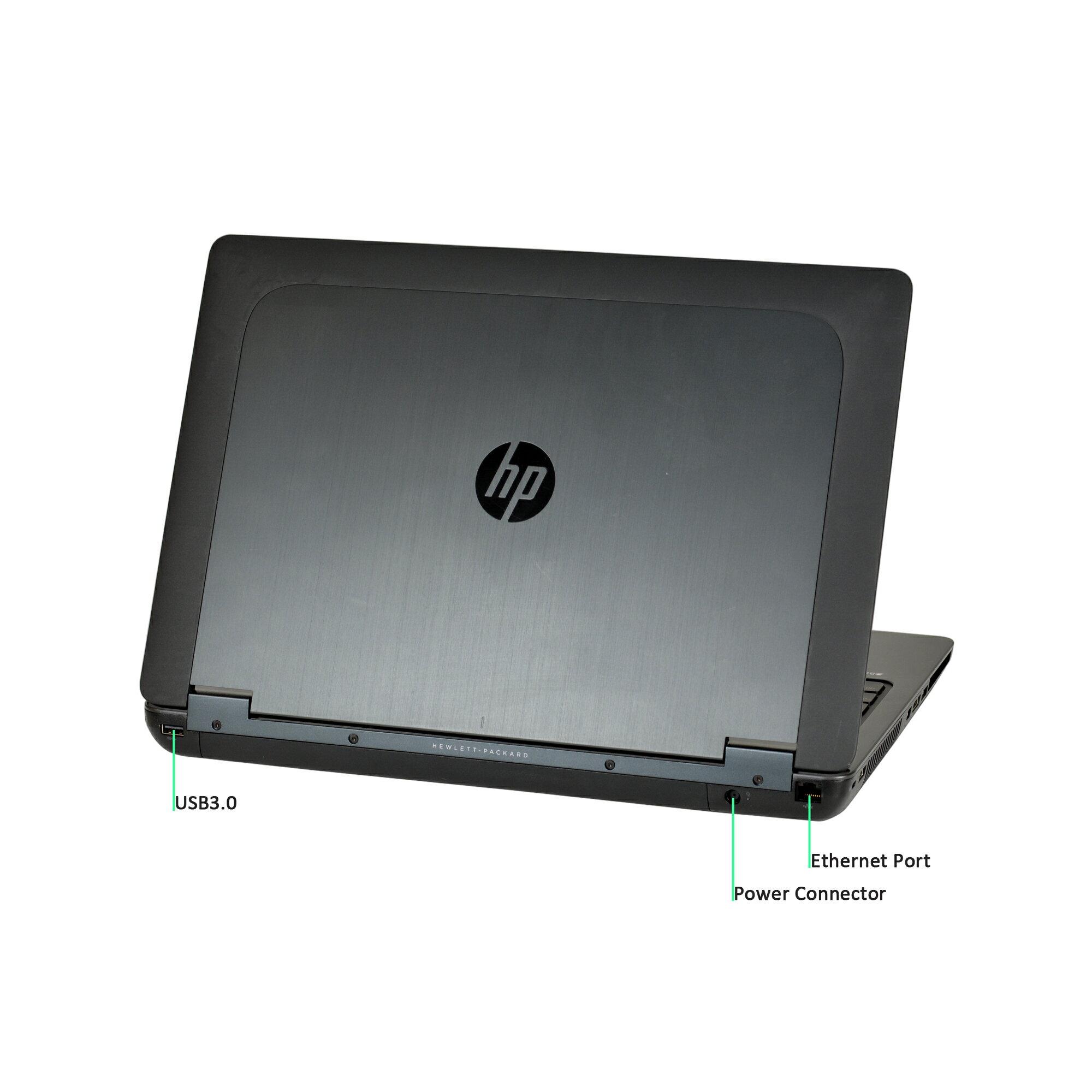 HP Zbook 15 Intel Core i7-4700MQ 2 4GHz, 16GB RAM, 480GB SSD, 15 6 in FHD  Display, Webcam, Win 10 Pro (64-bit)