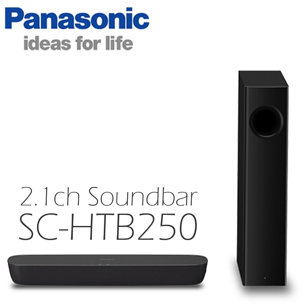 Panasonic 國際牌 家庭劇院 SC-HTB250 Soundbar 2.1ch 公司貨 免運 0