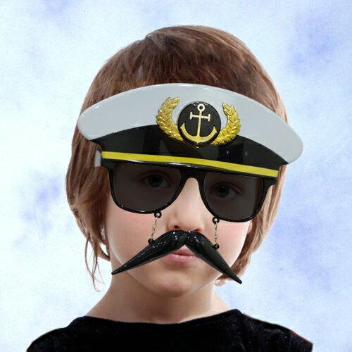 X射線【W274790】軍警造型眼鏡加鬍子,萬聖節/派對用品/舞會道具/cosplay/角色扮演/搞笑/面具/年終尾牙/慶生