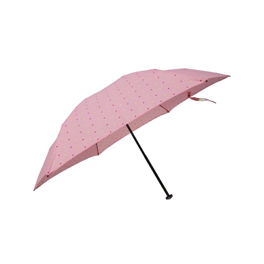 雨傘 陽傘 ☆萊登傘☆ 108克超輕傘 易攜 超輕三折傘 碳纖維 日式傘型  Leighton 菱形點印花