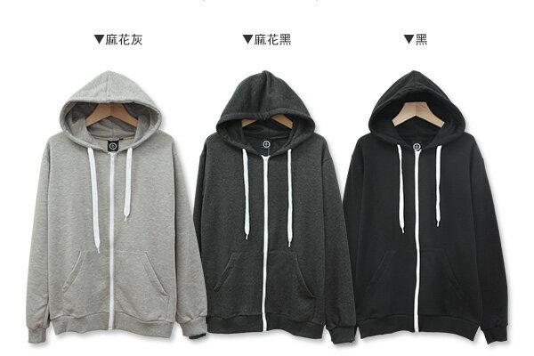 ☆BOY-2☆【OE10563】連帽外套 休閒棉質連帽抽繩外套 2