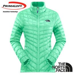 The North Face 女 PrimaLoft ? ThermoBall? 保暖外套 浪花綠 CUD5