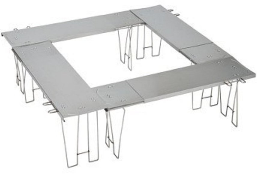 UNIFLAME 魔法圍爐桌/不鏽鋼桌 UF IRORI EXT 日本製 U683170