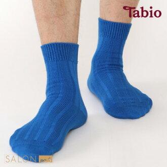 靴下屋Tabio 男款羅紋休閒棉質短襪