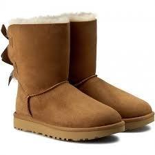 UGG BAILEY BOW II 駝色 女鞋 US 6 1016225W/CHO B