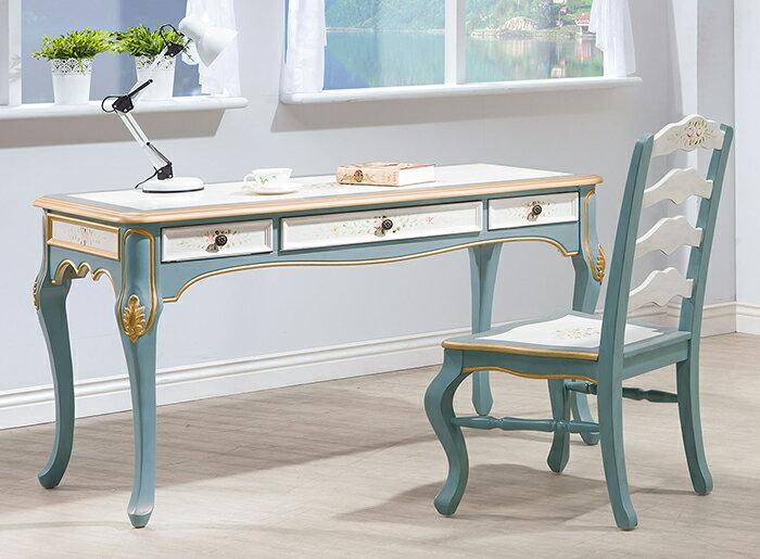 【尚品傢俱】HY-A457-04 維多莉亞歐式4.5尺書桌
