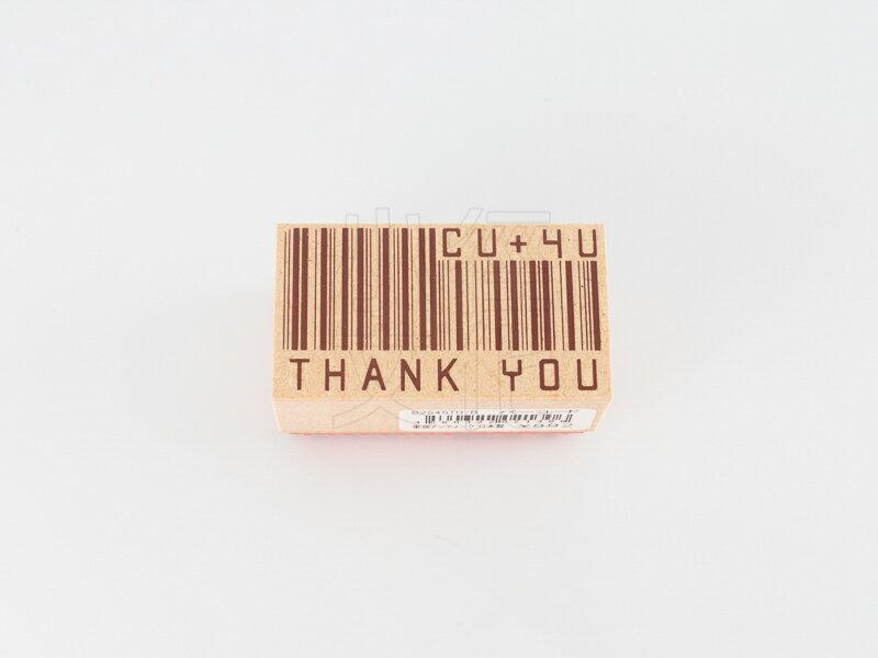 *小徑文化*日本進口手作雑貨 TOKYO ANTIQUE stamp - バーコード ( B2545TH-B )