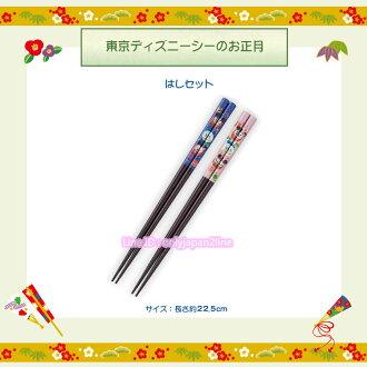 【真愛日本】新年正月福神日式和風筷子組 迪士尼樂園限定新年 新品食器