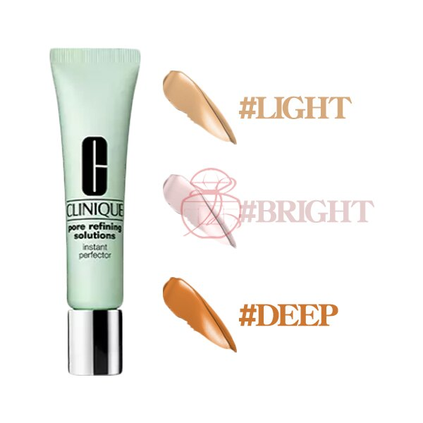 倩碧 CLINIQUE 毛孔飛縮瞬間柔焦霜 #Light/#Bright/#Deep 15ML ☆真愛香水★