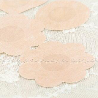 無紡布綢緞一次性胸貼(5對10片) 乳暈貼 乳頭貼 防走光貼 乳貼防凸點超薄【DP258】◎123便利屋◎