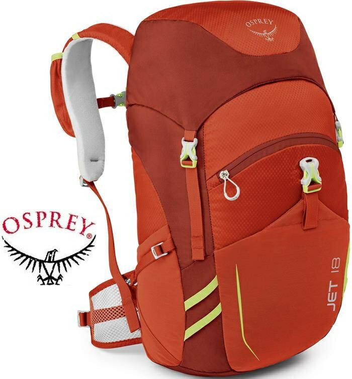Osprey Jet 18 兒童款 書包/日用後背包/電腦包 18升淘氣鬼後背包 草莓紅