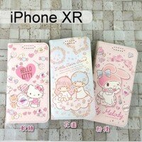 凱蒂貓週邊商品推薦到三麗鷗彩繪皮套 iPhone XR (6.1吋) Hello Kitty 雙子星 美樂蒂【正版】