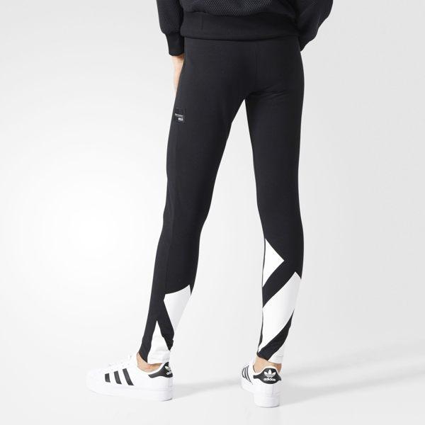 ADIDAS ORIGINALS TIGHTS 女裝 長褲 內搭褲 緊身褲 棉質 舒適 黑 白 【運動世界】 BK6182