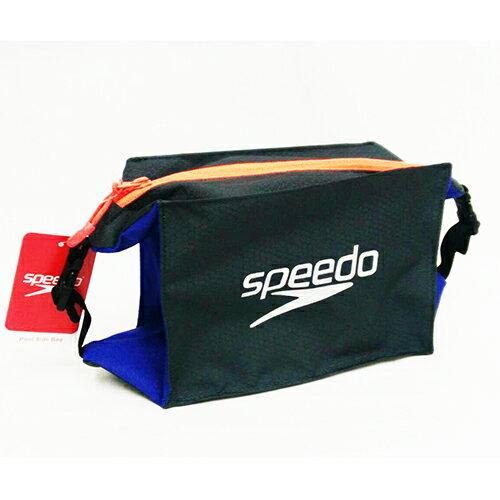 SPEEDO5升可附掛輕量防水收納包SD809191C299灰藍[陽光樂活]