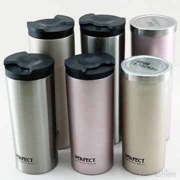 珍昕生活網:【珍昕】極緻316不銹鋼真空雙蓋保溫咖啡杯580450cc~3色(.亮光銀玫瑰金新貴金)