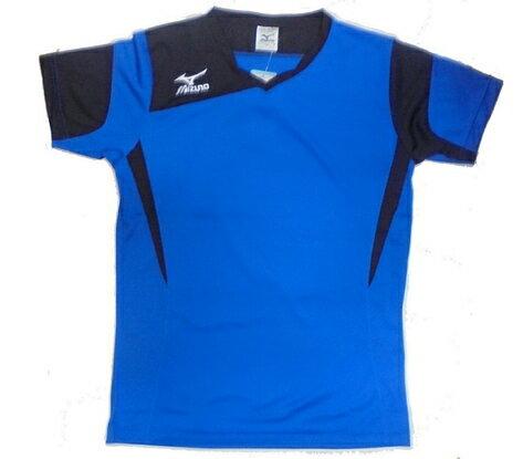 [陽光樂活=]MIZUNO美津濃排球上衣運動短袖T恤V2TA5G1222