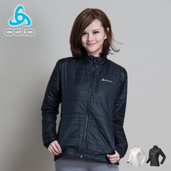 【桃源戶外】Odlo Primaloft eco外套│防風│保暖│雙面穿女外套 524561『黑』