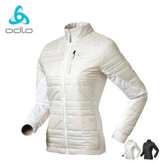 【桃源戶外】Odlo Primaloft eco外套│防風│保暖│雙面穿女外套 524561『雪白』