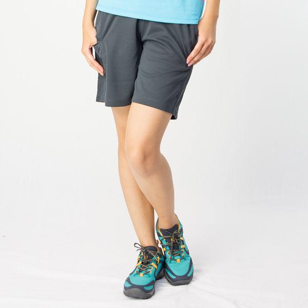 【桃源戶外】Wildland─91663女透氣抗UV排和短褲『深灰藍』