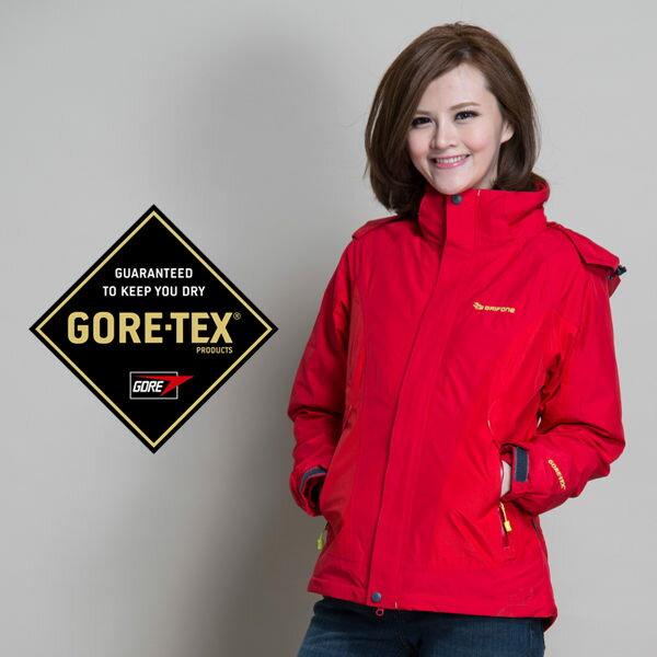 Grifone Gore-Tex外套│防水│防風│Primaloft sport│女兩件式雪衣 A5C083『黑』