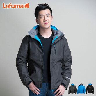 【桃源戶外】Lafuma※全台獨賣※ Gore-Tex外套│防水│防風│羽絨│男兩件式雪衣 LFV10202『深灰』