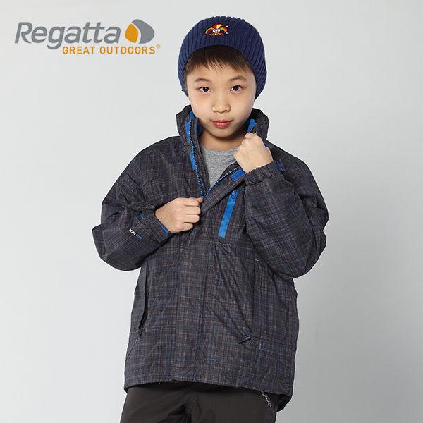 【桃源戶外】Regatta 童 防風│防水│刷毛│兩件式雪衣 RKP042『鐵灰』