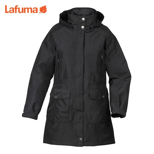 Lafuma 女GORE-TEX│防水│防風│透氣│纖維│兩件式│雪衣 LFV9311『黑』