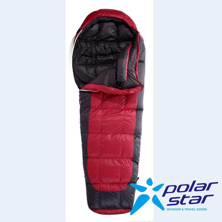 Polar Star 超輕羽絨人型睡袋 (絨重600g) P12752 - 紅 (原台中秀山莊)