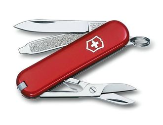 Victorinox Classic sd 瑞士刀 0.6223 紅 露營 登山 休閒 (原台中秀山莊)