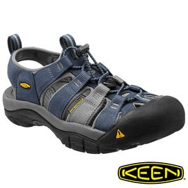 Keen Newport H2 男護趾水陸兩用鞋 深藍/灰 1012206