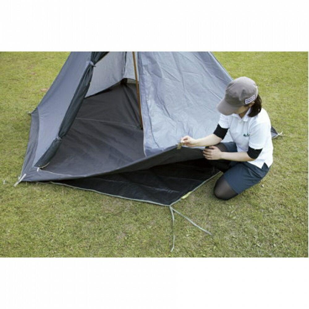 日本 LOGOS  印地安 300 帳篷防潮地布(六角) 地墊 防水 露營 帳篷 71809705