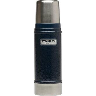 Stanley 16 oz 經典真空保溫瓶 錘紋藍 1228038 (原台中秀山莊)