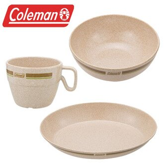 Coleman 竹纖維單人餐盤組 環保餐具 CM-2923(原台中秀山莊)