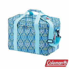 Coleman 25L 藍葉圖騰保冷袋 CM-22219