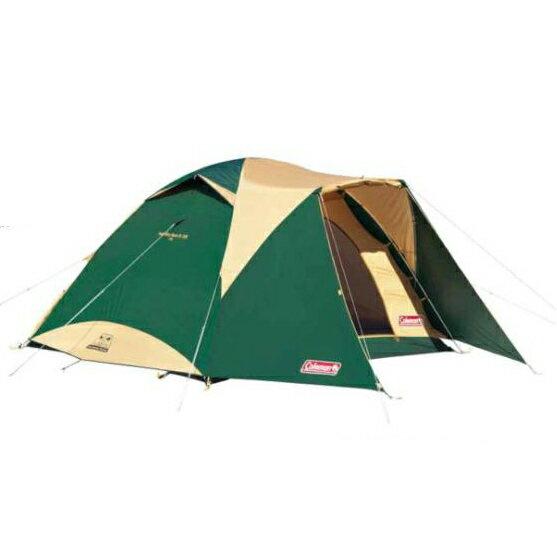 Coleman 4-6 人圓頂露營帳 (限量套裝組 ,含地墊與地布) CM-17861