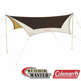 桃源戶外登山露營旅遊用品店:Coleman氣候達人六角型天幕CM-1575J露營|帳篷